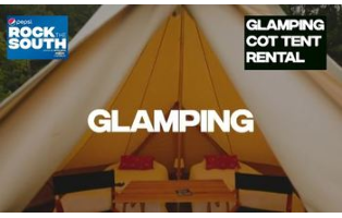 Rock The South - Glamping Cot Tent Rental